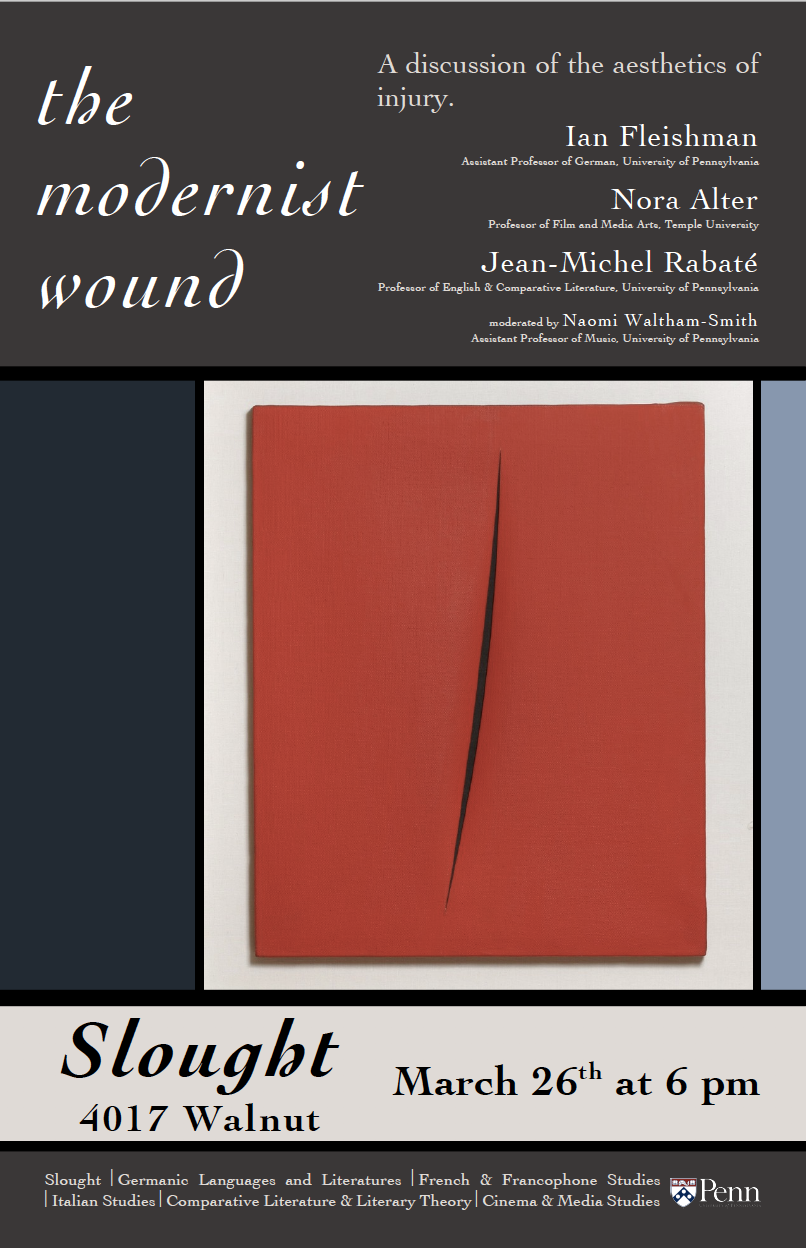 The Modernist Wound
